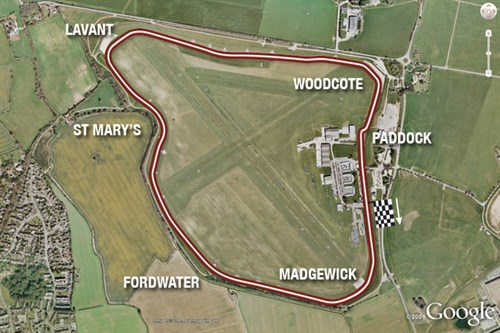 Goodwood Circuit Map